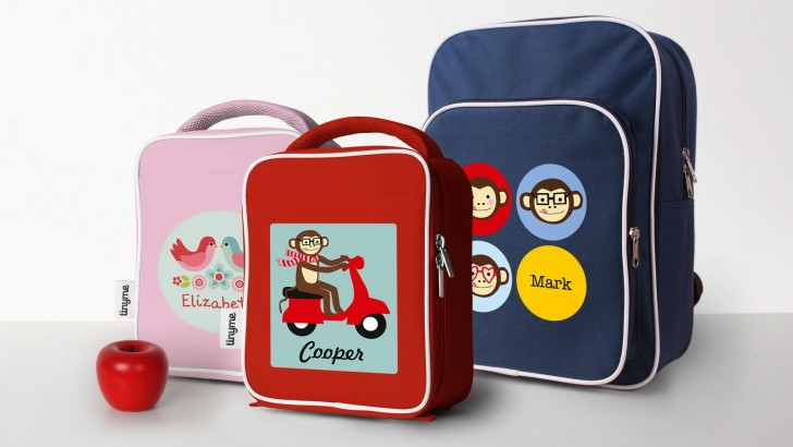 Personalized School Messenger Bags