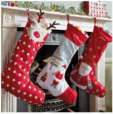 Personalised Christmas Stocking And Sacks For Kids Very